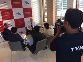 HemoCues President and press